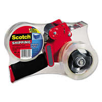 Scotch Packaging Tape And Dispenser Gun With 2 Rolls Packing Shipping Tape