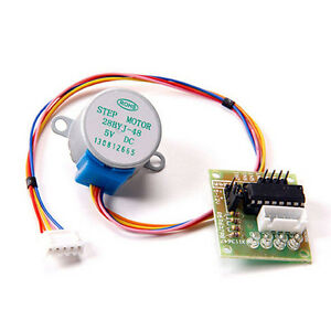 Driver-Test-Module-Board-28BYJ-48-Arduino-5V-4Phase-Stepper-Motor-with-ULN2003
