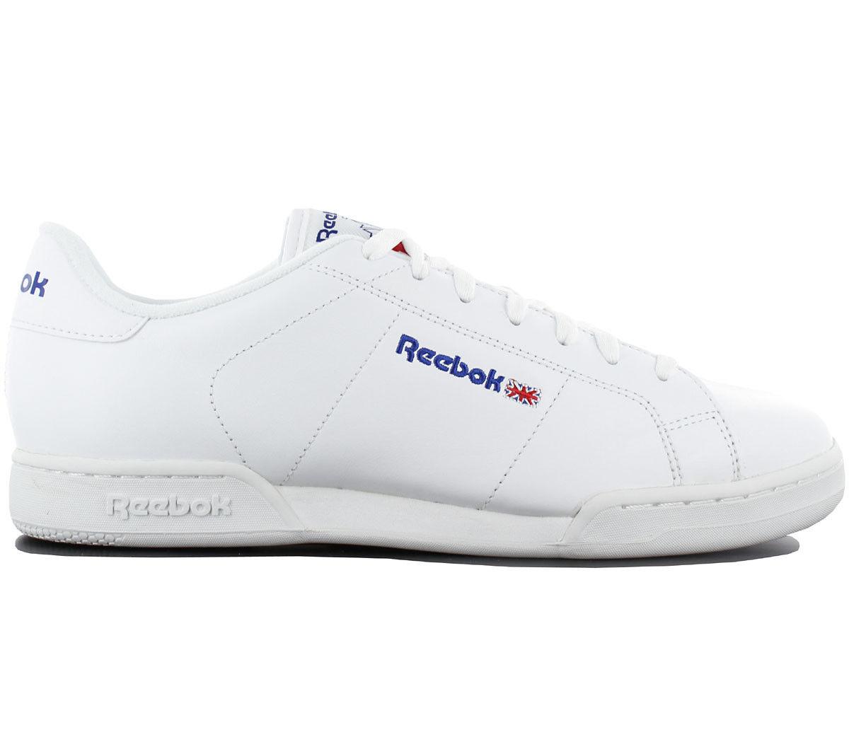 Reebok Classic NPC II zapatillas zapatos cuero blancooo zapatillas de deporte ocio 1354 nuevo