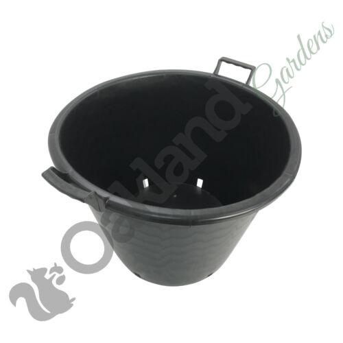 10 x 65 Litre Plant Tree Pot With Handles Heavy Duty 65L Lt Big Large Plastic