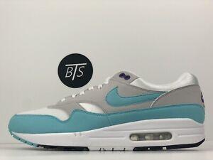 "9ae52b236e Men's Nike Air Max 1 Anniversary OG ""Aqua"" Size-10 Blue White Grey ..."