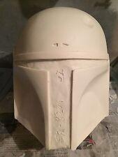 Boba Fett Mandalorian 1:1 Full Size Helmet Kit Resin Prop (new version2)