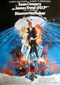 JAMES BOND + 007 + DIAMANTENFIEBER + SEAN CONNERY +