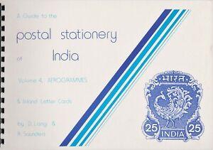 L'inde, Un Guide Pour Les Entiers Postaux De L'inde Vol 4 Aérogrammes-afficher Le Titre D'origine Belle Et Charmante
