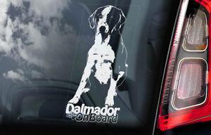 got dalmatian DOG BREED FUNNY CAR DECAL BUMPER STICKER WALL