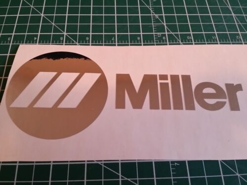 Miller Welder Decals Stickers Graphics Set Of 2 Many Colors Mask Tools Wire