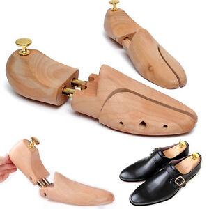 Unisexe-Paire-Embauchoir-Bois-Reglable-Stretcher-Brancard-Arbre-Chaussures-34-46