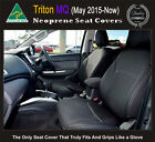 FRONT Seat Covers Mitsubishi MQ Triton Premium Neoprene Waterproof 100% Fit