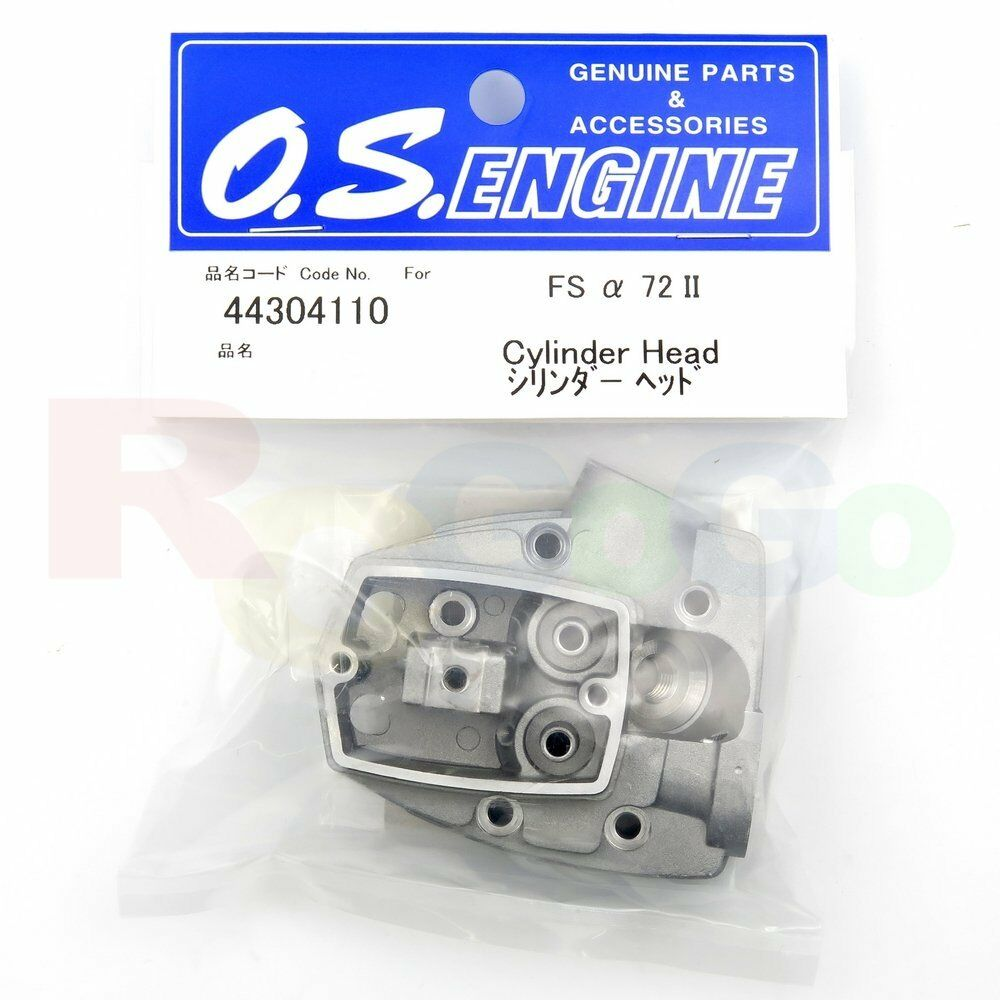 CYLINDER HEAD FSa-72II   OS44304110 O.S. Engines  Genuine Parts  negozio outlet