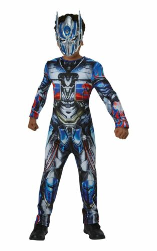 Optimus Prime Transformers Boys Fancy Dress Costume Outfit Licensed Film Dressup