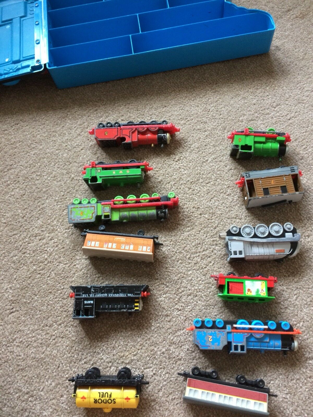 THOMAS THE TANK ENGINE ENGINE ENGINE BOX CARRY CASE WITH