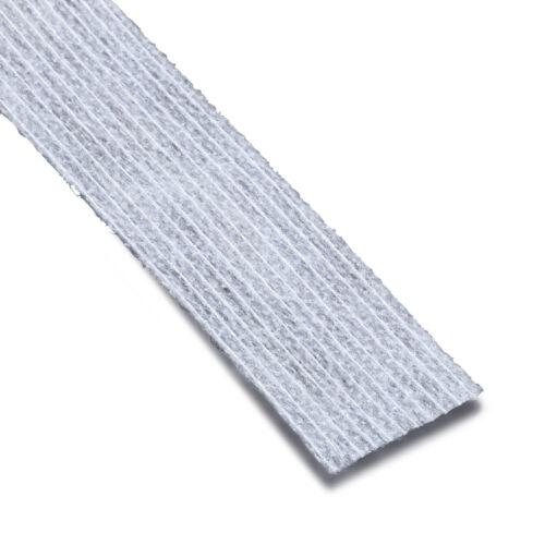 PRYM 10 M tessuto non tessuto-spigoli nastro a caldo 20 mm BIANCO 968240