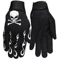 Skull & Crossbones - Xl Mechanic's Gloves