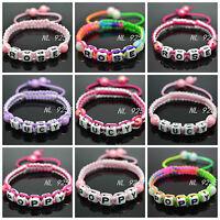 Shamballa Style Named Bracelets For LITTLE GIRL - TOP QUALITY - UK SELLER