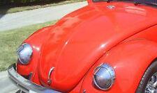 vintage vw volkswagon bug beetle ghia bus oval herbie headlight chrome eye lids