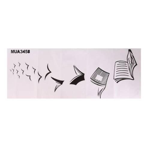 Wall Decal Study Education Vinyl Sticker Art Classroom Poster Decor LP