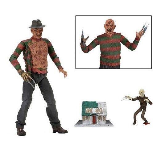NECA a pesadillas en Elm Street, tres sueños, el Guerrero Frojody, 17 centímetros.