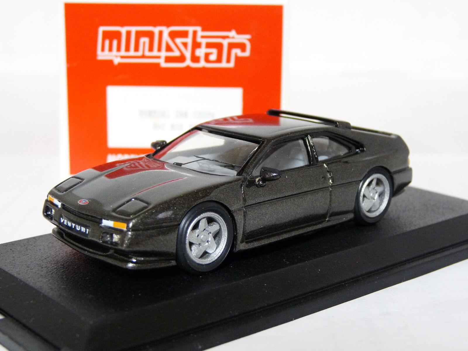 MiniEstrella MSR04 1 43 Venturi 260 Coupe Coche Modelo de Resina Hecho a Mano