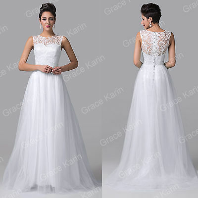 Lace Dresses Formal Long Ball Gown Party Prom Bridesmaid Evening Dress PLUS SIZE