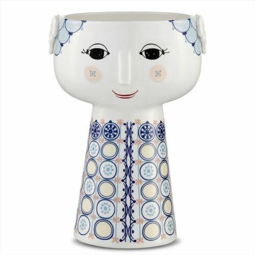 Bjrn Wiinblad Vase Eva Blau 18,5cm