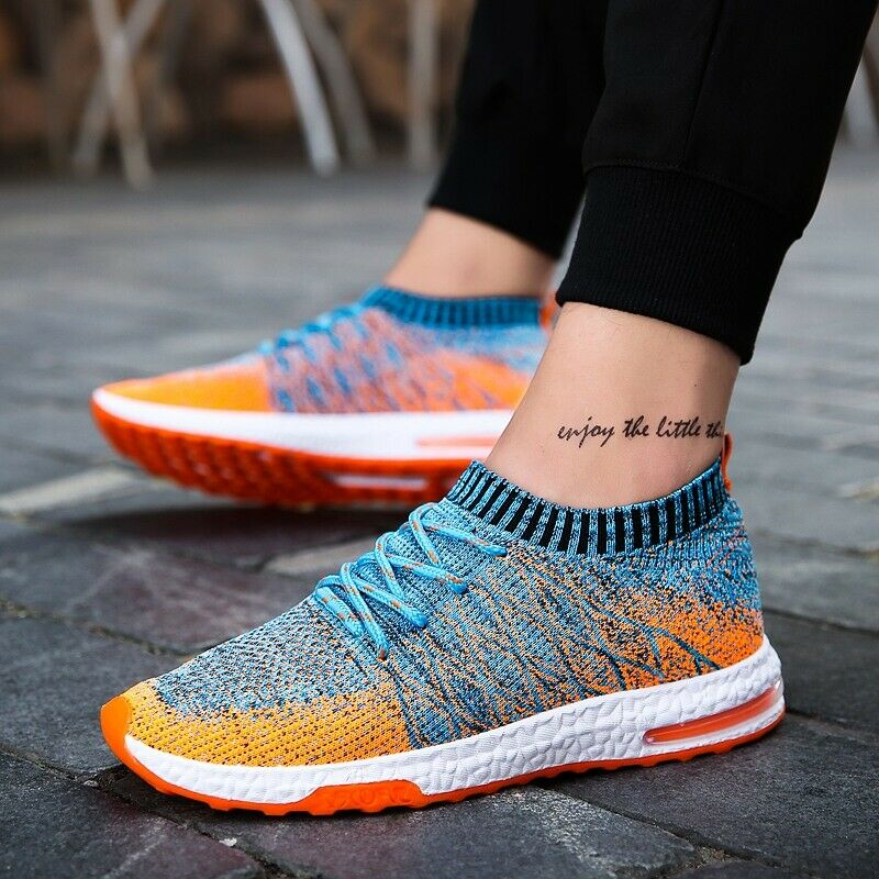 Fashion Men Mesh Footwear Summer  Breathable Slip-on Lightweight Casual shoes