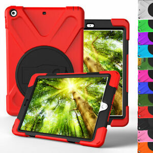 For-Apple-iPad-9-7-6th-5th-Generation-Rugged-Stand-Hard-Case-Screen-Protector