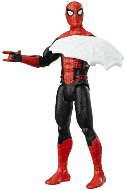 Hasbro Spider Man Far From Home Web Shield Spider Man Action Figure For Sale Online Ebay