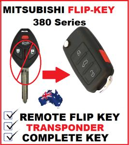 Mitsubishi-380-DB-Car-Key-Remote-Flipkey-Transponder-2005-2006-2007-2008