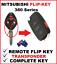 Mitsubishi-380-DB-Car-Key-Remote-Flipkey-Transponder-2005-2006-2007-2008 thumbnail 1