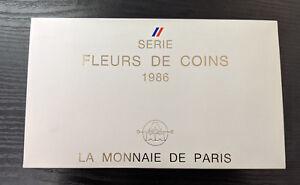 Monnaie-de-Paris-Coffret-FDC-Fleur-de-Coin-12-pieces-1986