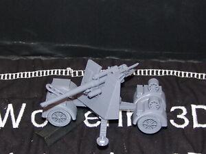 Flames Of War German 88mm Flak/AT 1/100 15mm FREE SHIPPING