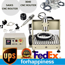 Usb 5 Axis 3040 Cnc Router Engraver 3d Drilling Milling Machine 800w Usa