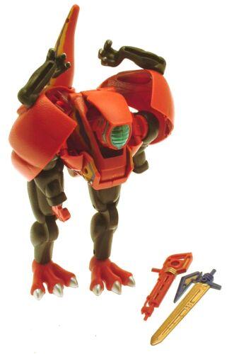 Juguetes Robot De Plástico Morphs en 18 cms Rojo de dinosaurio