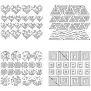 Image Is Loading 12x Nail Art Guide Tips Hollow Stencils Sticker