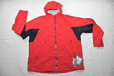 MENS UNDER ARMOUR STORM STRETCH WATERPROOF JACKET RED $200 1253397 2XL