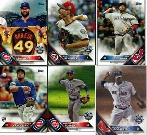 Details About 2016 Topps Update Series Baseball Base Cards Choose From Card Us S 1 150