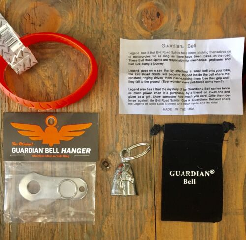 GUARDIAN BELL UNICORN COMPLETE MOTORCYCLE KIT W// HANGER /& WRISTBAND