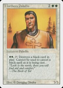Northern Paladin 4th Edition PLD White Rare MAGIC THE GATHERING CARD ABUGames
