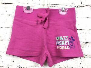 Disney-Parks-Mickey-Mouse-Girls-Shorts-Pink-Size-XS-4-5