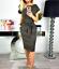 Women-Solid-Pockets-Slim-Pencil-Dress-Bodycon-Casual-Short-Sleeve-Party-Cocktail thumbnail 4