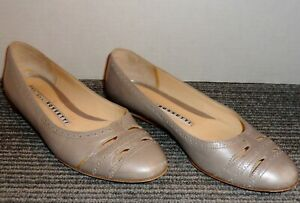 FRATELLI-ROSSETTI-ITALIAN-CRAFTED-LEATHER-FLATS-SIZE-6-US-36-EUR-FREE-SHIPPING