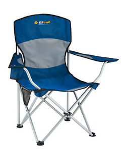 Oztrail-Deluxe-Arm-Chair-Blue