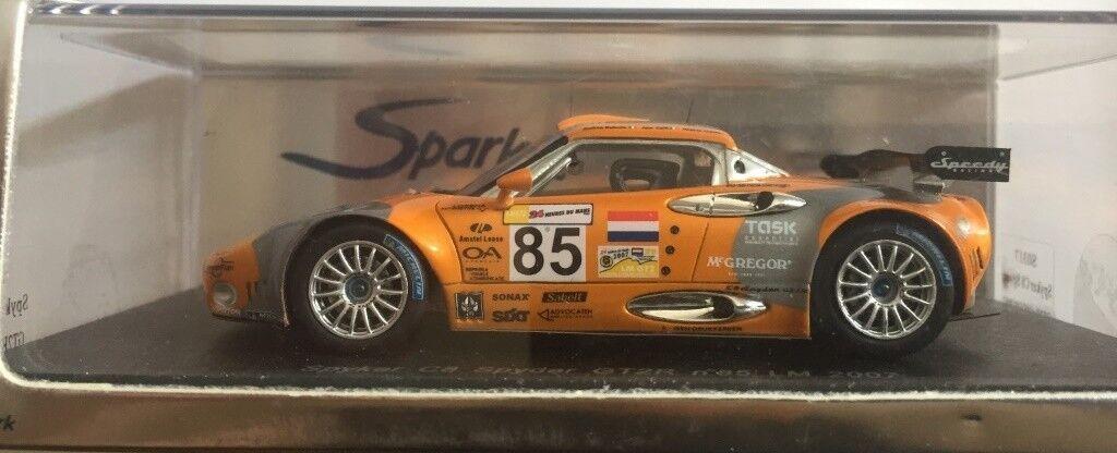 bajo precio 1 43 Spark SO317 Spyker C8 Spyder GT2R no 85 85 85 naranja Le Mans 2007  de moda