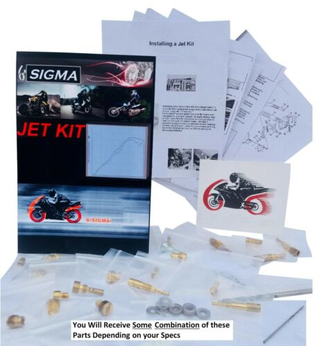 CB750SC Jet Kit 6Sigma 1979-83 Honda CB 750 Nighthawk Custom Stage 1-2-3