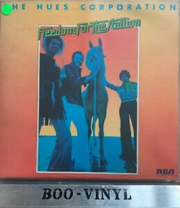 Freedom-For-The-Stallion-The-Hues-Corporation-Vinyl-Record-Ex-Con