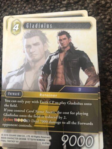 Gladiolus 8-074H Opus 8 Final Fantasy