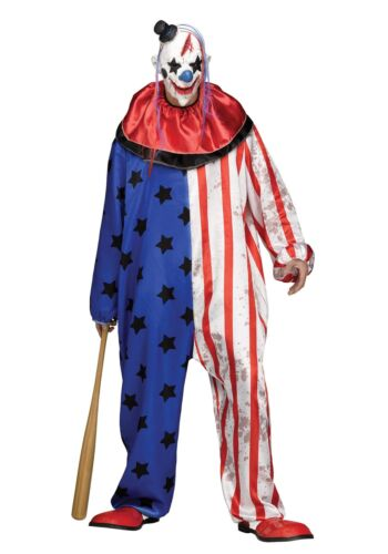 Evil Clown Men/'s Costume