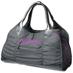 women 39 s athleta spring tote gym bag nwot gray ret 79. Black Bedroom Furniture Sets. Home Design Ideas