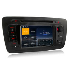 Car Radio DVD Player GPS Sat Nav Stereo Bluetooth For SEAT IBIZA 2009-2013 New