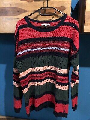 M KP 45,99 € Tom Tailor Denim Streifen-Pullover NEU!! Gr